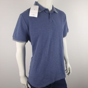 Kit and Ace Blue Cashmere Blend Polo Size XL